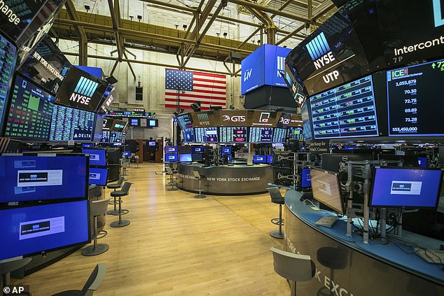 US stocks have opened higher on Wall Street after Congress and the White House reached a deal overnight to inject nearly $2 trillion of aid into an economy ravaged by the coronavirus. The New York Stock Exchange is currently empty due to the coronavirus