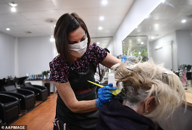 Prime Minister Scott Morrison launched stage two restrictions on Tuesday night, extending bans on the operations of certain businesses including limitations on how long customers can stay at hairdressers