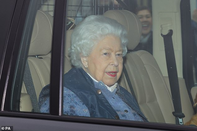 Speaking after leaving London for Windsor (pictured), where she was joined by Prince Philip, the Queen urged Britain to come together amid the crisis and assured the country that the Royal Family is ready to 'play its part' in beating the deadly infection