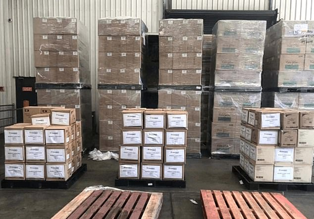 Greenland Group told Chinese language media in Australia the company collected three million protective masks, 700,000 hazmat suits and 500,000 pairs of medical gloves during the global effort