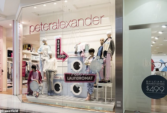 Peter Alexander is among the stores that is having to close down due to the coronavirus