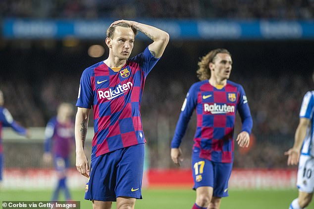 The Barcelona chief is urging calmness among players and insisting the move is temporary