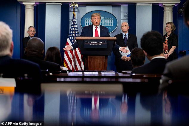President Donald Trump argued the coronavirus is likely more prevalent than the numbers report because so many people have it but don't go to a doctor