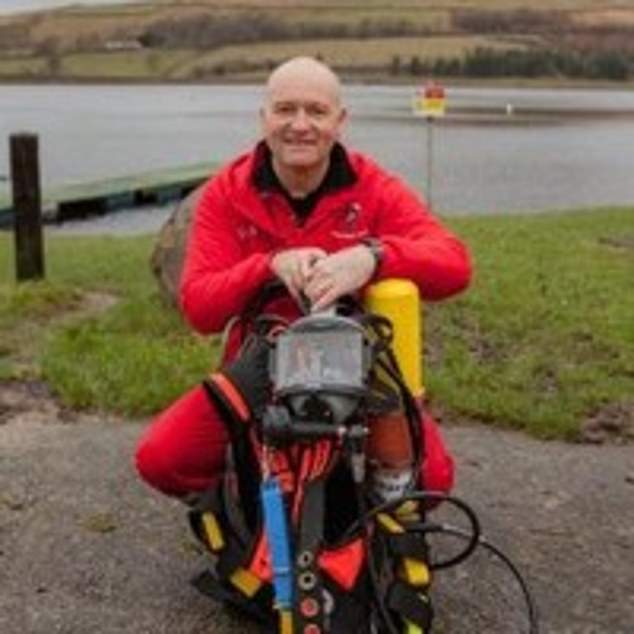 Mr Farrand, 60, now a commercial diver, has been reunited with his hat after it came into the hands of a military artefacts dealer, who tracked the former sailor down after seeing his name on the inside of the hat