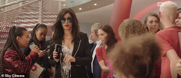 Action: Cheryl, 36, flexes her acting muscle once again as she channels a fierce music agent in the upcoming movie Four Kids And It