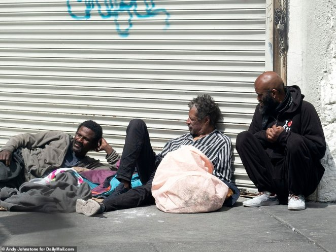 Other hazards of life on Skid Row include low-level crime, traffic danger and violence ¿ the same LA County report noted that murder accounts for six per cent of deaths among residents every year