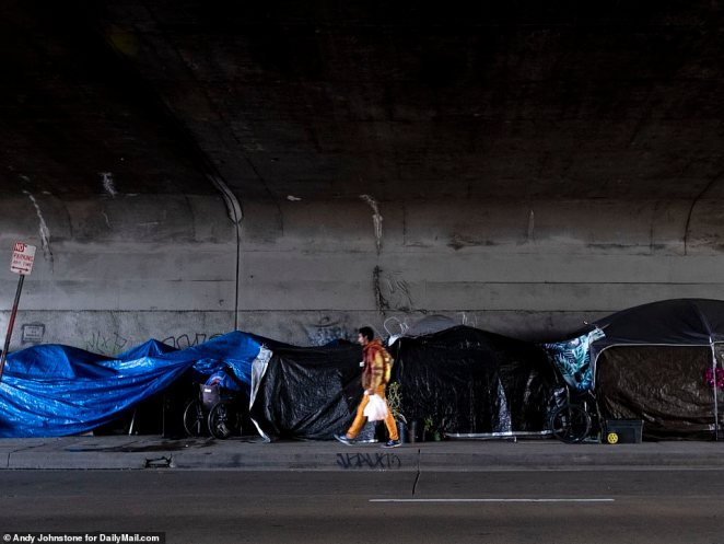 LA Mayor Eric Garcetti said the city would add thousands of temporary shelter beds to get the population off the streets to protect them from coronavirus on March 19