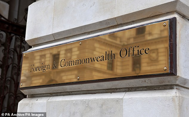 Britons stranded abroad because of the coronavirus crisis have slammed the Foreign Office (pictured) for failing to support them as they face paying up to £40,000 for a flight home