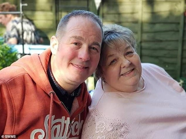 Susan Nelson with her nephew Wayne.In recognition for the NHS workers who tried to save their mother, the family have set up a Just Giving page with proceeds going to Queen Elizabeth Hospital Birmingham Charity