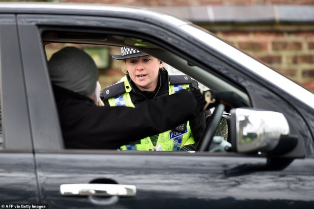 Forces are sending anyone home not going to work or the supermarket or pharmacy - but there have been a number of examples of overzealous enforcement of new powers handed to them last week