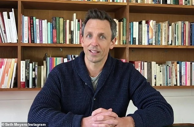 From a distance:Late Night With Seth Meyers will be back on the air Monday with the host conducting an exclusive and remote interview with Vermont senator Bernie Sanders