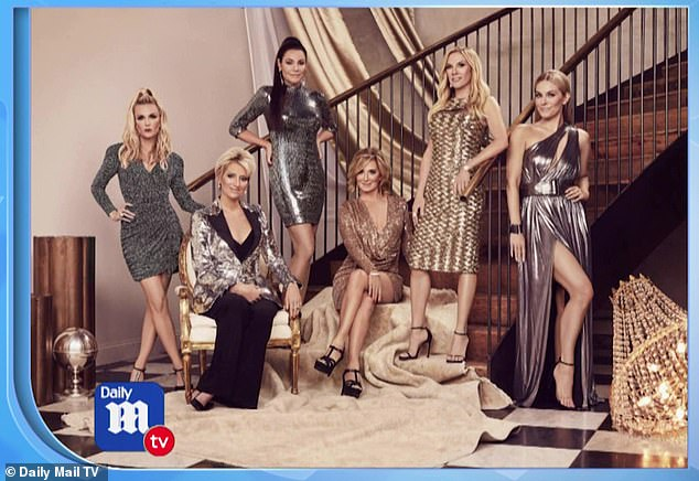 Big Apple:The new season of Real Housewives of New York premieres on the Bravo network on Thursday, April 2 at 9 p.m. EST. And, tune into DailyMailTV all this week for exclusive interviews with the cast