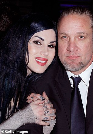 The friend said Jesse's philandering was so prolific he even reached out to women he had slept with years before during previous broken relationships. 'He was speaking to women who he cheated with when he was with Kat Von D,' the friend said. In September, 2011 L.A. Ink star Kat split from fiance Jesse after discovering he was cheating