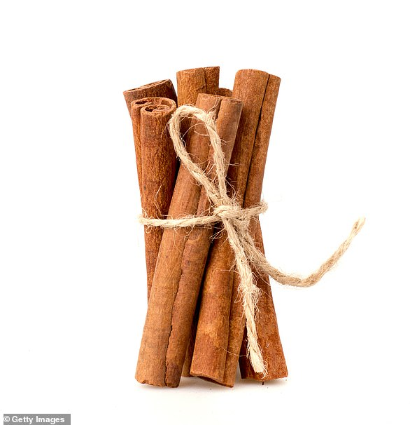 Dr Megan suggests adding cinnamon to foods to increase plant chemical intake (file image)