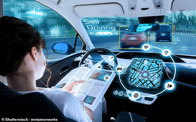 The rise in the number of self-driving cars will lead to more binge drinking as people stop worrying about having to drive home from a pub or club, a study claims. Stock image