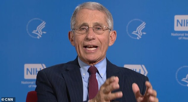 Dr. Anthony Fauci says the coronavirus task force is discussing 'community-wide use of masks' to prevent spread of infection
