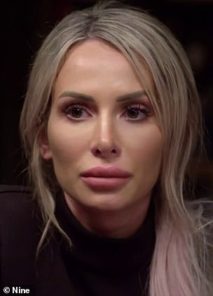 Who do you believe? Married At First Sight's Stacey Hampton (pictured) has exposed the THREE problems with Ivan Sarakula's eyewitness account of her cheating with Mikey Pembroke