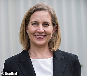 Professor Sacha Stelzer-Braid (pictured) from the University of New South Wales told FEMAIL the virus can remain on jewellery even after you've washed your hands