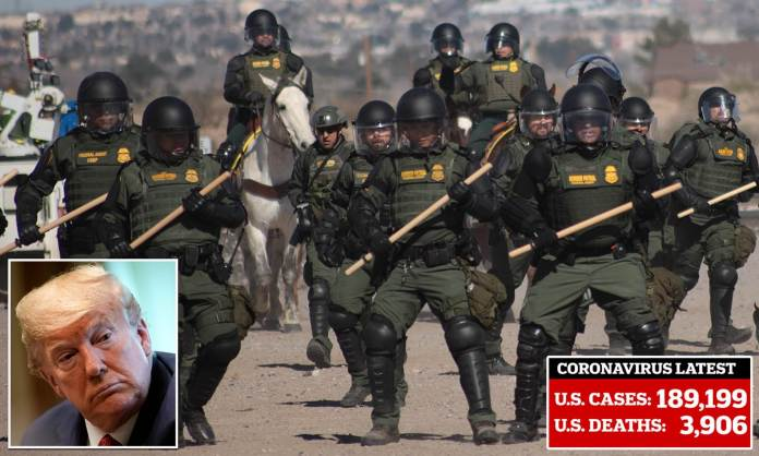 U.S. will add 500 troops at Mexico border during... | Daily Mail ...