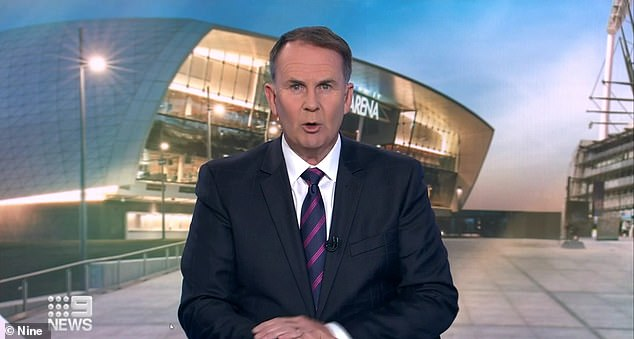 During a live TV interview on Wednesday night, Tony Jones asked Collingwood president Eddie McGuire if he would give members their money back