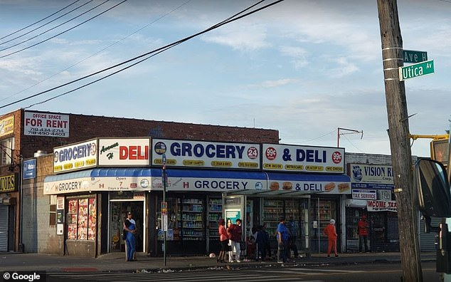 On Friday Morning, officers with the New York Police Department arrested a masked suspect who looted Tylenol and cash from a Avenue H Deli in Brooklyn