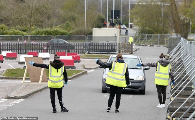 Frustrated health workers are still being turned away from coronavirus testing sites today because they do not have the correct paperwork