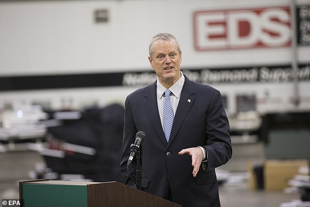 The search for N95 masks began a few weeks earlier when Massachusetts Governor Charlie Baker (photo) and his team found the necessary manufacturers in China. The problem was to ship them from Shenzen in the midst of the global pandemic and the paperwork that followed.