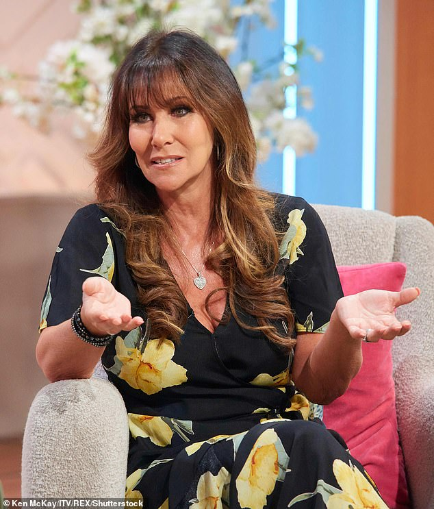 Tribute: Linda Lusardi, 61, has launched an online memorial for the victims of coronavirus following the death of close friend Eddie Large
