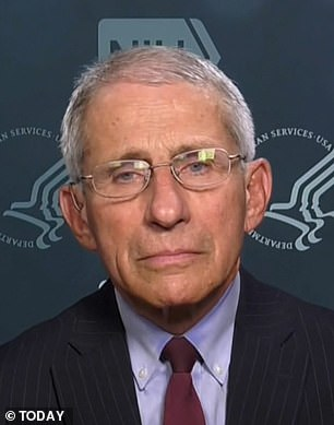 Dr Anthony Fauci said that US officials are having 'very active discussions' about telling Americans to wear face coverings in public