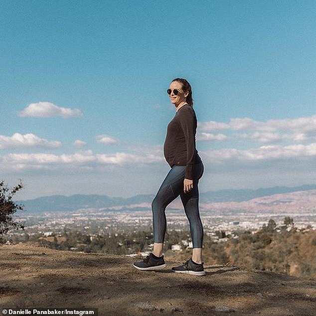 Fresh air:And in February the beauty was seen hiking in LA. She added the caption, 'I try to exercise every day - it¿s good for my body but also good for my mental health'