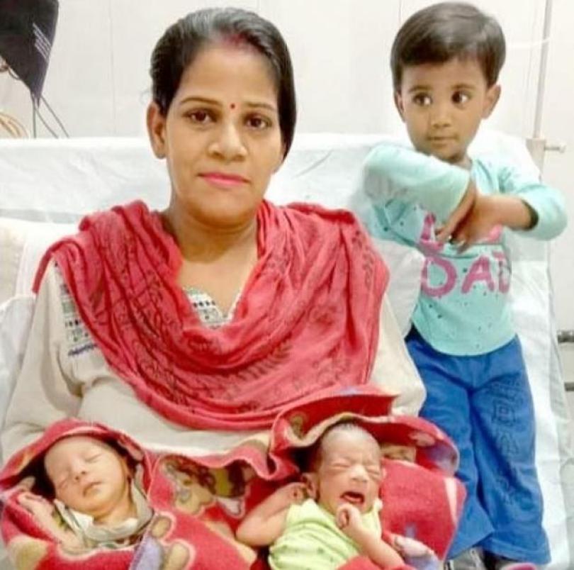 26761084 8183575 image a 1 1585900863507 - India: Pais nomeiam os filhos recém-nascidos de Corona e Covid