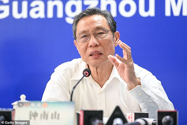 Chinese epidemiologist Zhong Nanshan said he worried about what would happen to the coronavirus outbreak in the US, adding 'the problem of the US will be the problem of the world'