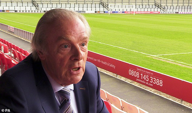 Gordon Taylor is the director general of the PFA and was heavily criticized this week