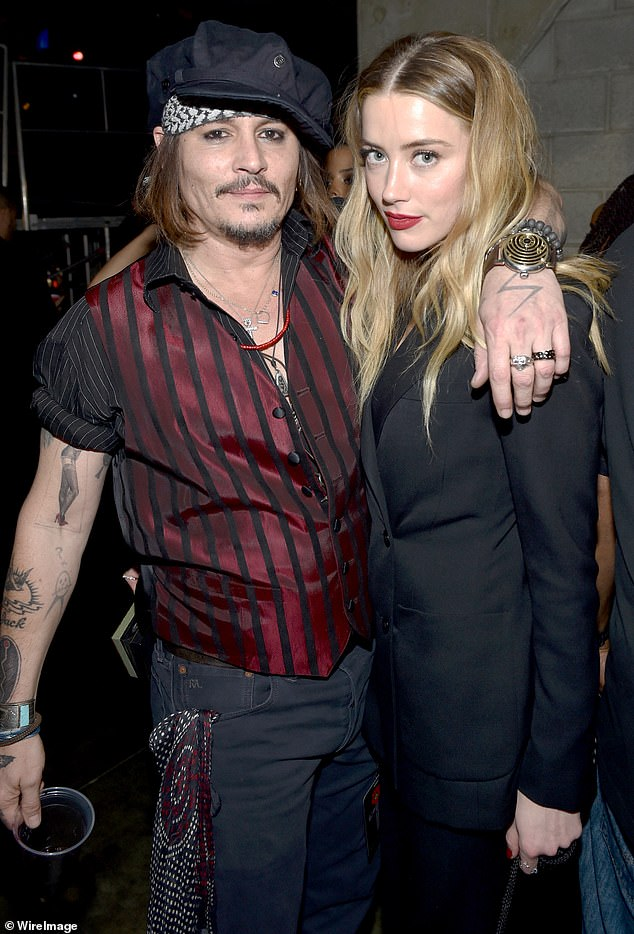 Heard, 33, maintains in court documents that Depp cut his middle finger while smashing a phone against a wall for three days of drinking and bandaging in ecstasy. It has become the couple's most memorable shock , the two offering different accounts in a series of court cases that followed their bitter split in May 2016