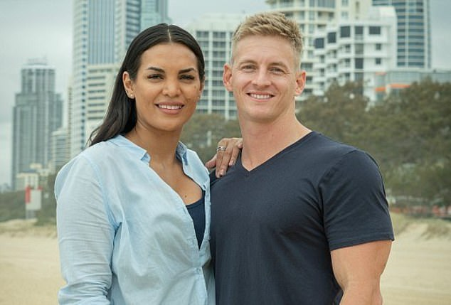 Paired up:Rhys is joined on the renovation show by his girlfriend, fiery lawyer Tamara (left), 28