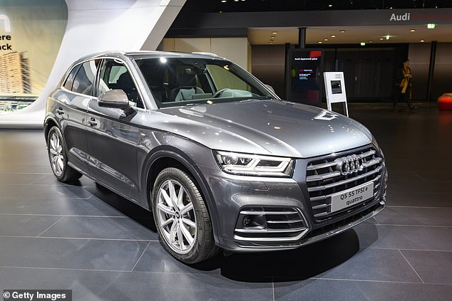 The Audi Q5 SUV is also affected by the rise and will be taxed up to £1,285 more than before
