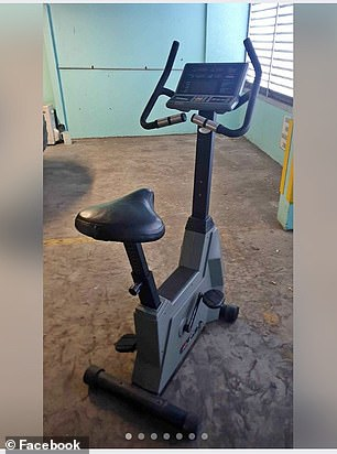 Basic used exercise bikes costed as much as $150 online (pictured), while you can usually get a mini exercise bike from Kmart for just $29