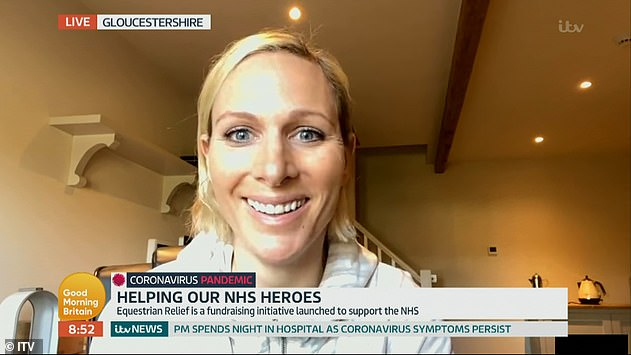 Queen's eldest granddaughter appeared on Good Morning Britain today where she said she `` hopes everyone listens '' to her grandmother and follows government directions
