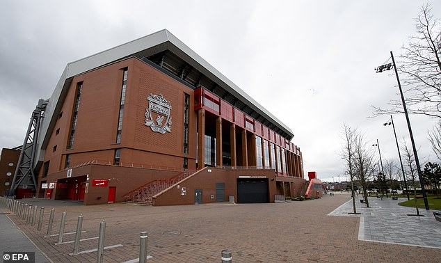 Anfield has been silent with the league on shutdown, with a restart date completely unknown