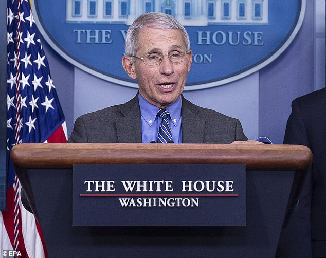 The world will never return to what was considered 'normal' before the novel coronavirus emerged four months ago, Dr Anthony Fauci predicted at Monday's White House briefing