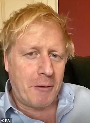 Boris Johnson on April 3