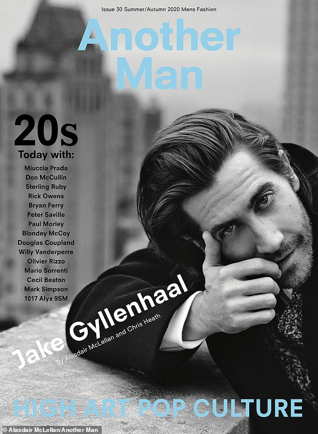 Stand up: Gyllenhaal reminded how Ledger held up while talking to Another Man magazine, telling them that talent hadn't found anything funny in Ang Lee's heartbreaking love story between two cowboys