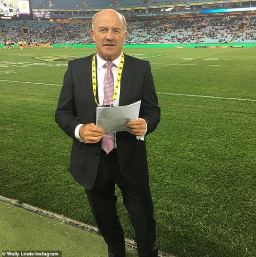 Wally Lewis becomes radio entertainment reporter | Daily ...