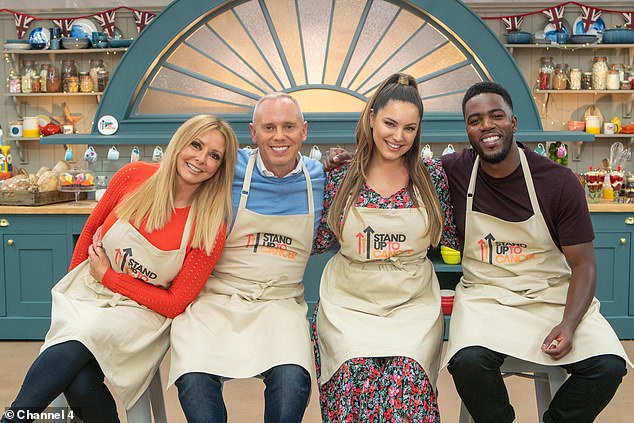 Stars: Judge Rinder was joined in celebrity special by Carol Vorderman, Kelly Brook and Mo Gilligan