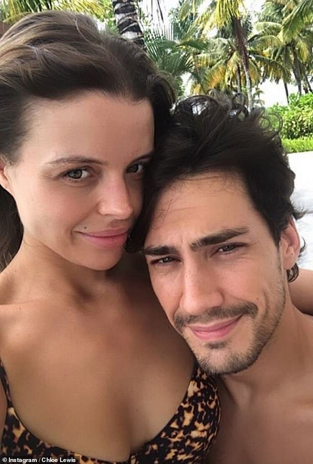 Family: Chloé's mother, who welcomed her son Beau with his partner Danny Flasher in October, recently spoke about her pregnancy during an interview.
