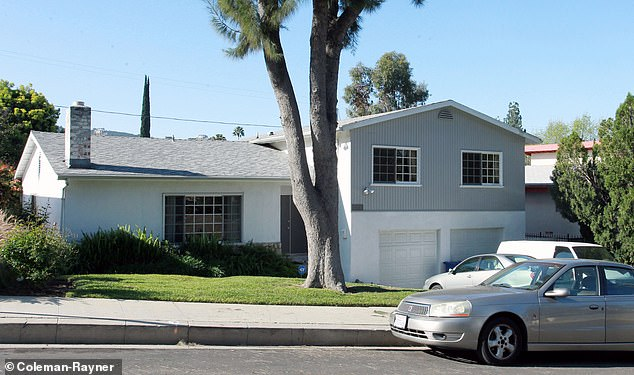 It is her childhood home, which she shared with Doria, her now separated father Thomas Markle Sr and her half brothers Thomas Jr and Samantha in Woodland Hills, a suburb of the San Fernando Valley