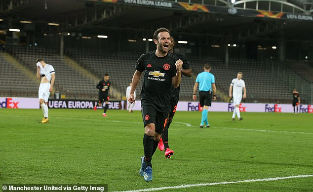 Juan Mata urged footballers around the world to unite in the fight against the virus