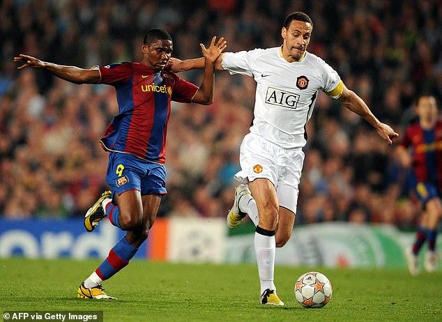 Rio Ferdinand reveals he was 'close' to Barcelona move in 2008 ...