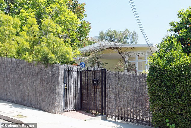 And finally, there is the bungalow just above the legendary Whiskey a Go Go music venue in West Hollywood (photo) which she shared with her first husband Trevor Engelson before their divorce in 2013.