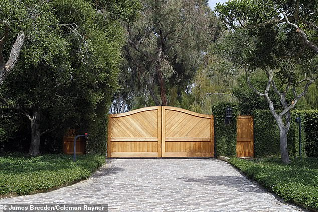 The billionaire television legend who owns a 40-acre ranch north of Los Angeles in Montecito -